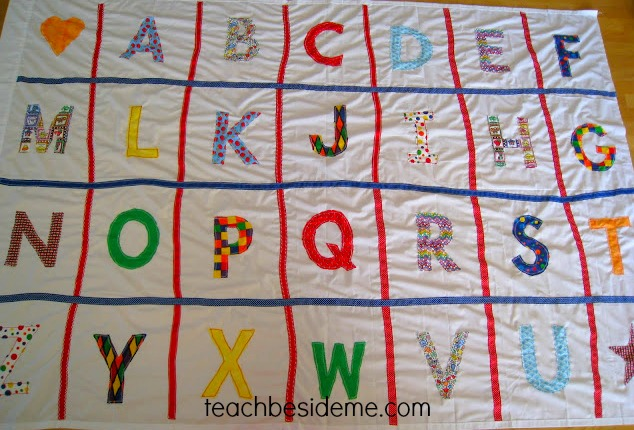 Learning the Alphabet- Alphabet Mat