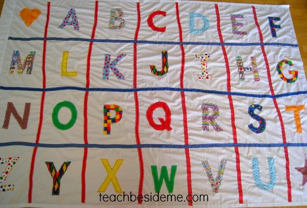 Learning the Alphabet- Alphabet Mat