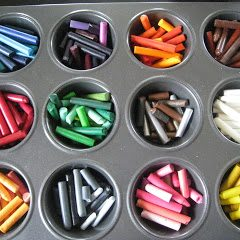 Chunky Recycled Crayons