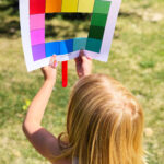 Color Scavenger Hunt with Printable