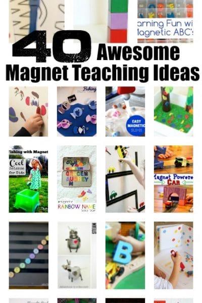 40 Fun Magnet Teaching and Play Ideas