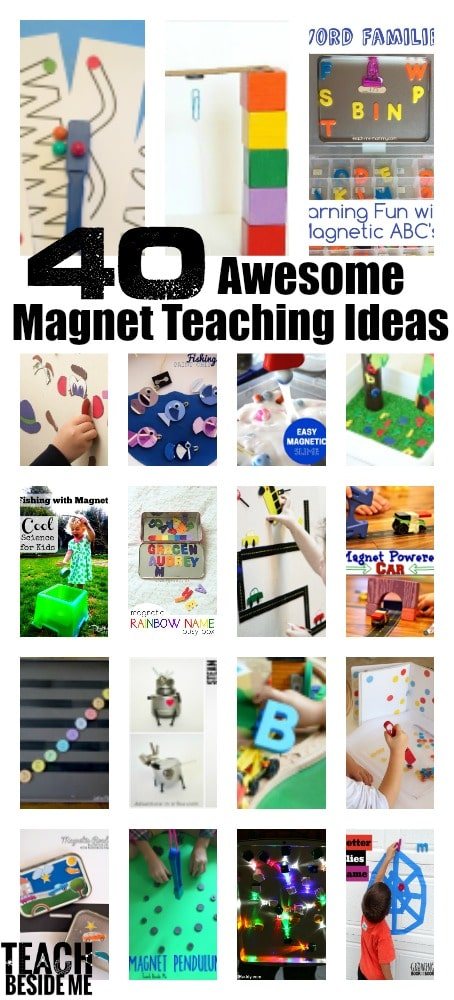 Magnet experiments for teaching and play