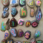 Alphabet Rock Art
