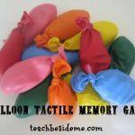 Tactile Memory Game