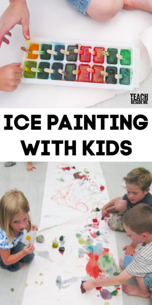 Ice Painting With Kids