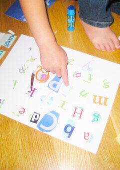 Preschool Alphabet Scavenger Hunt