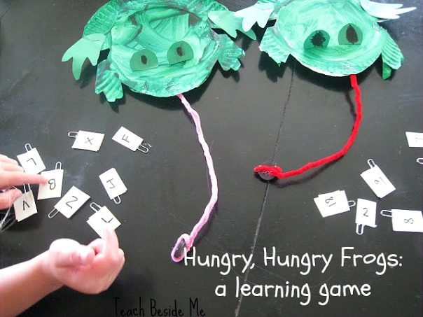 Hungry Frogs Learning Game