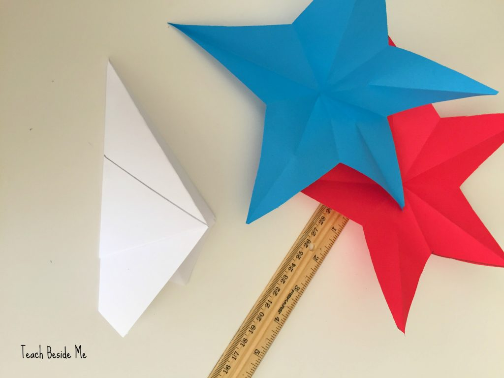 how to cut 5-point paper stars