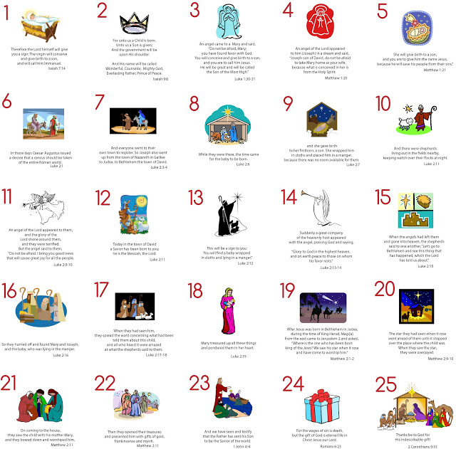 Advent Calendar List Ideas : Christmas advent ideas teach beside me
