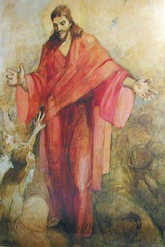 Christ in Red Robe