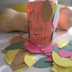 Family Thankful Jar Craft