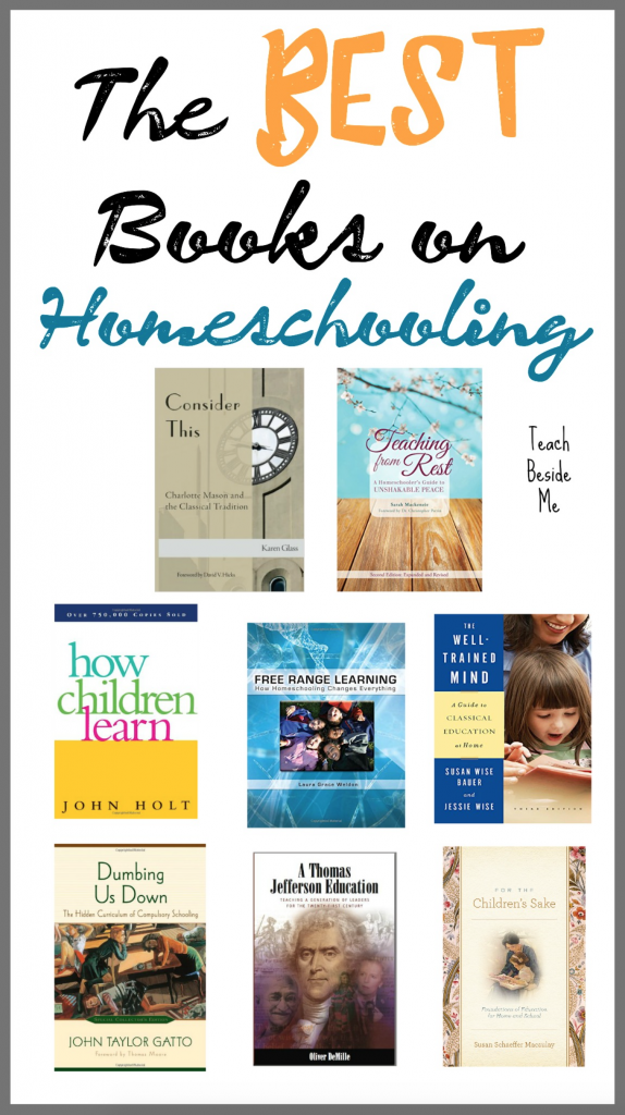 Best homeschooling books to read for Mom