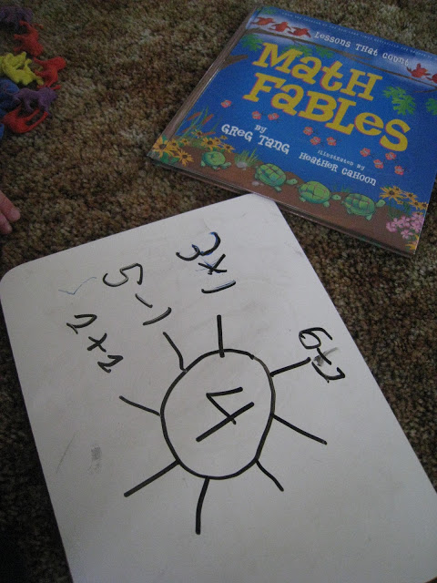 What Equals What? With Math Fables