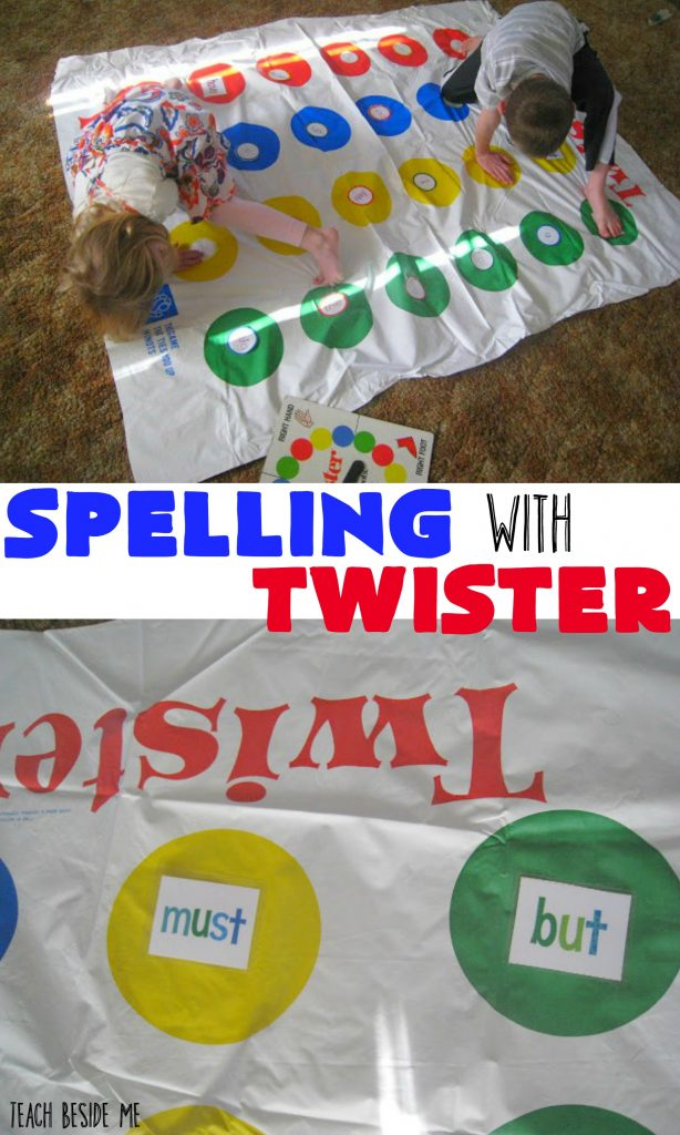 Spelling Game with Twister