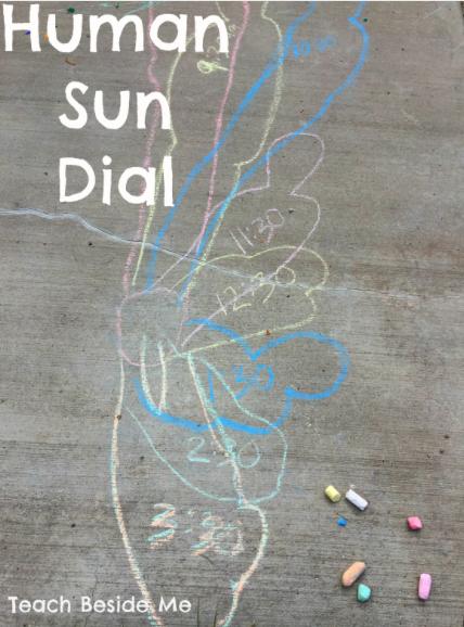 Human Sun Dial