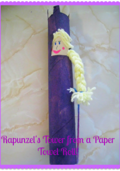 Rapunzel's Tower Pulley Simple Machine