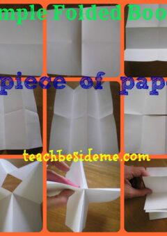 Easy Folded Book