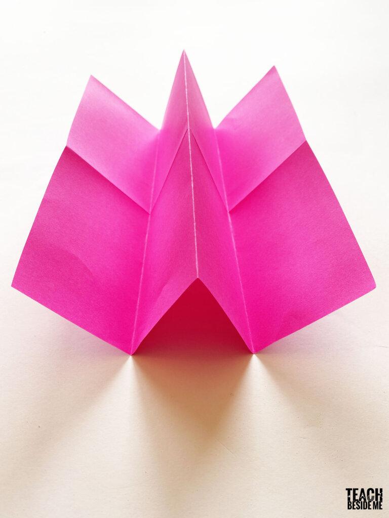 folding a paper book