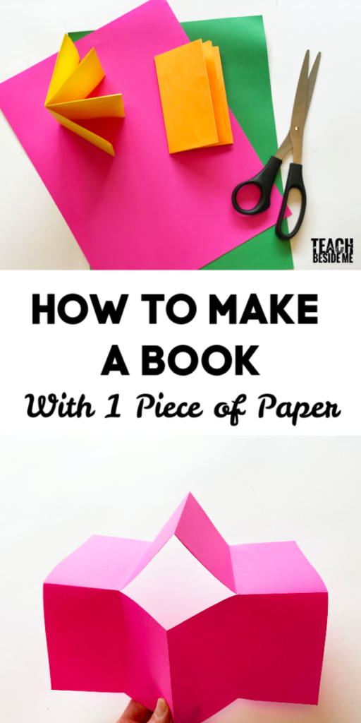 how to make a book out of paper