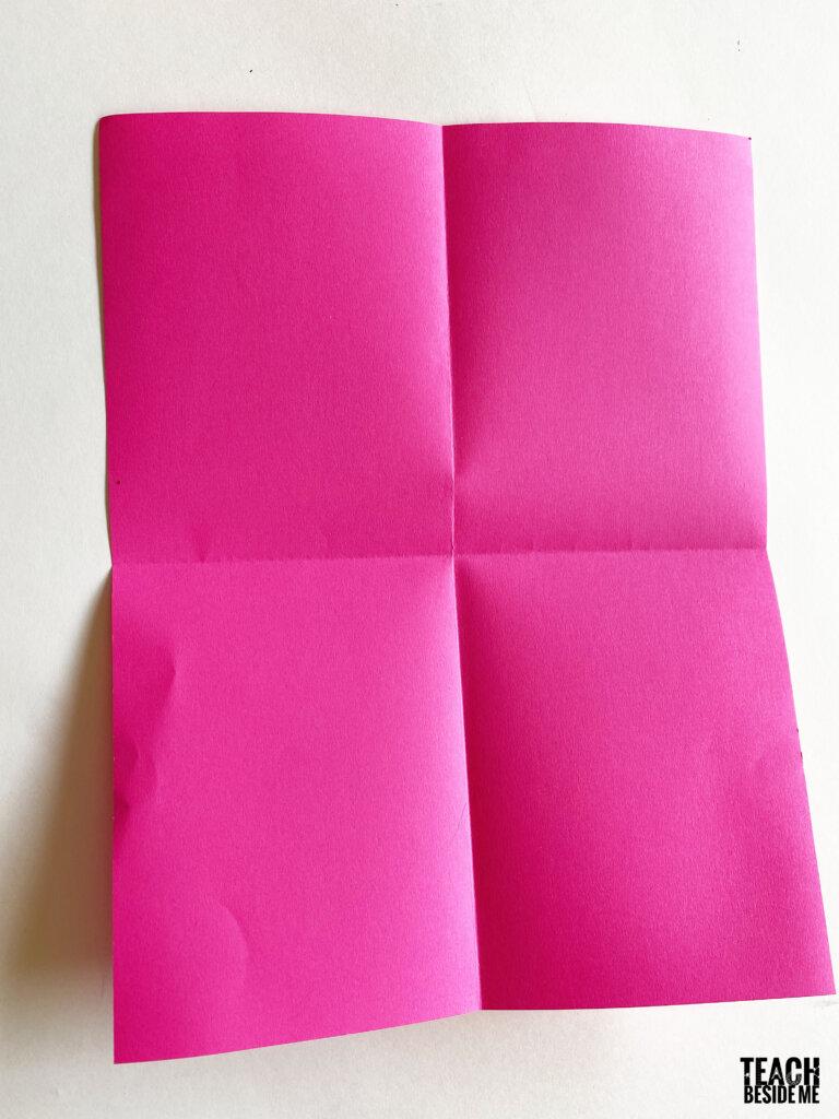 make a paper book