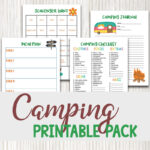 Camping with Kids Checklist