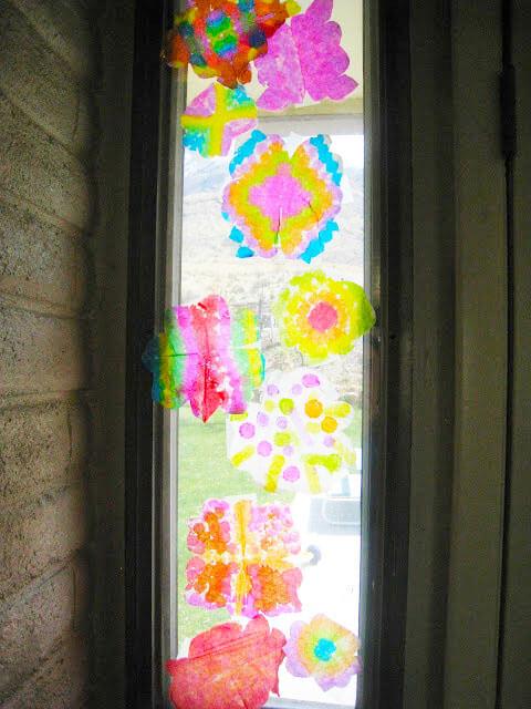 suncatcher in window.