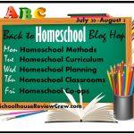 Homeschool Methods- Back to Homeschool Blog Hop