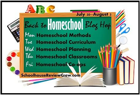 Back to Homeschool Blog Hop- 5 Days of Blogging