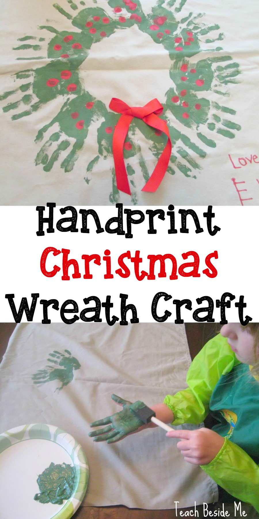handprint-christmas-wreath-craft-homemade-gift