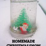 Christmas Craft: Homemade Snow Globe