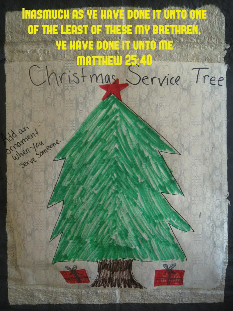The Christmas Service Tree
