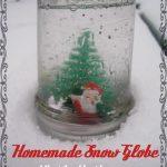 Homemade Christmas Snow Globe