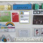 A Fresh Start~ Calendar Board Update