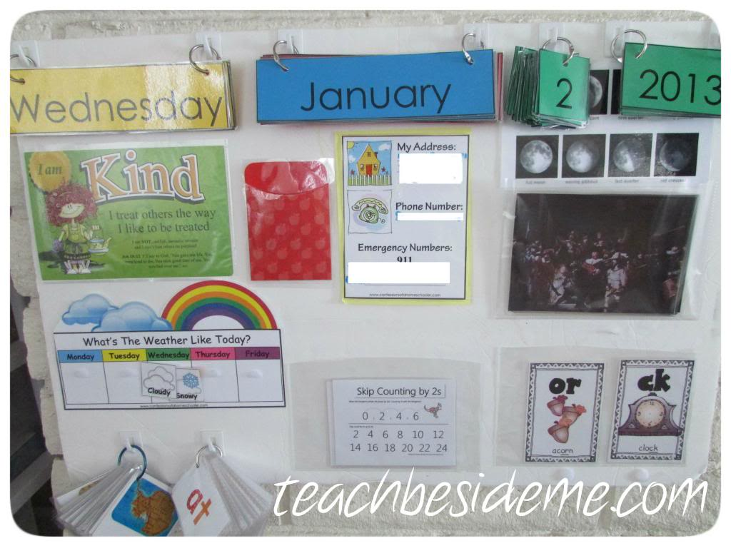 A Fresh Start~ Calendar Board Update
