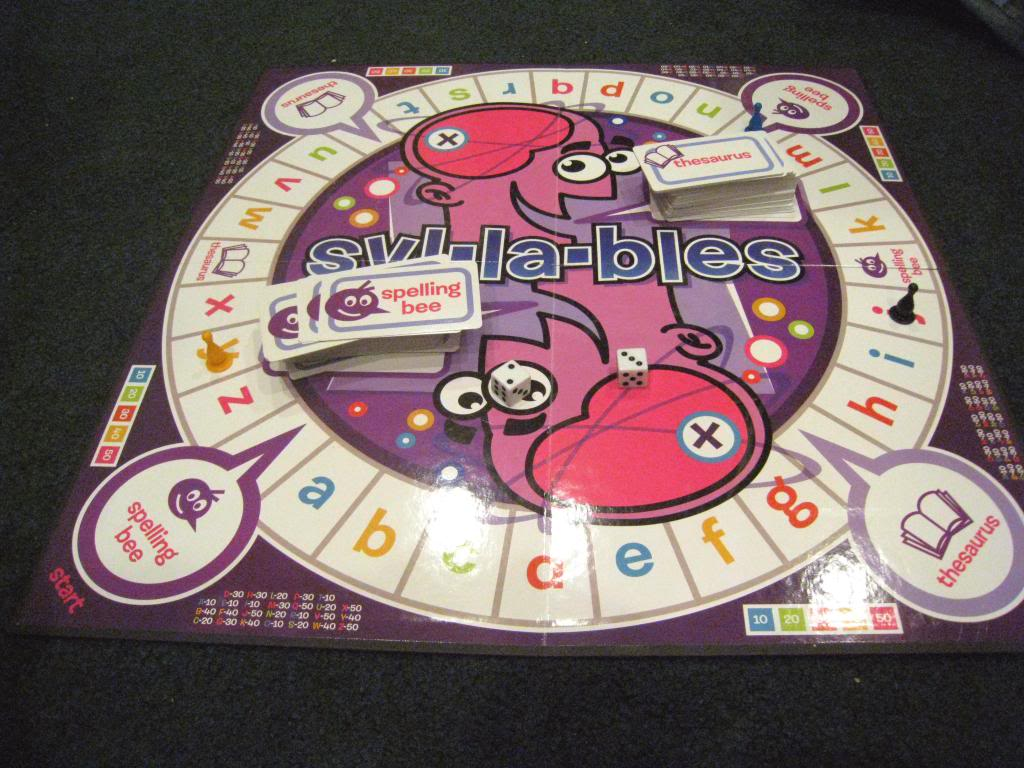 Syl-la-bles (Spelling Board Game Review)