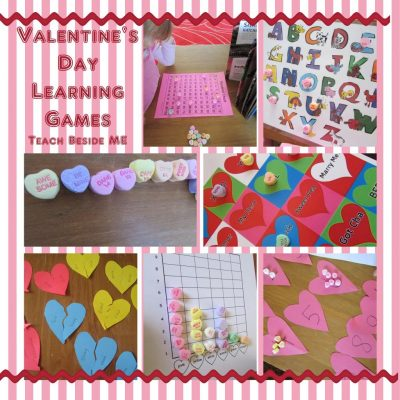 candy heart learning ideas