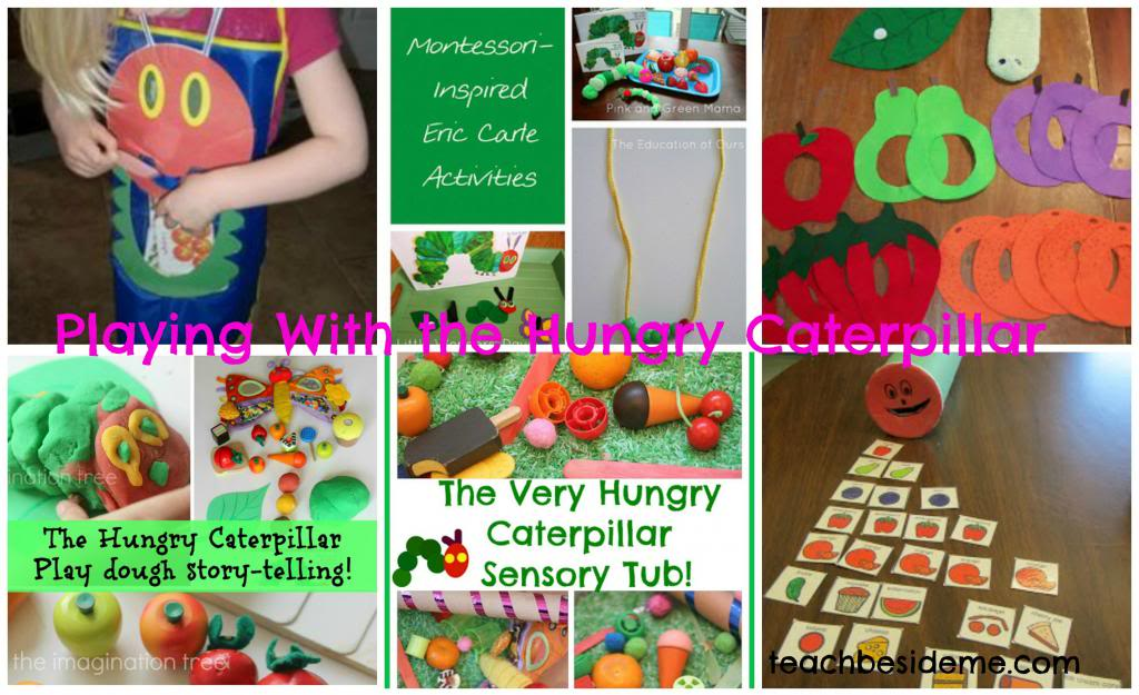 playing with hungry caterpillar