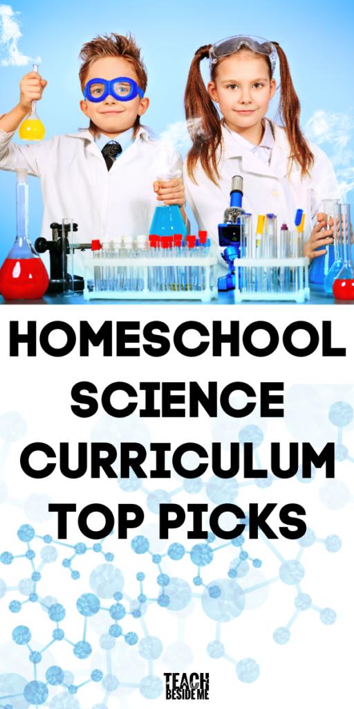 Homeschool Science Curriculum Top Picks