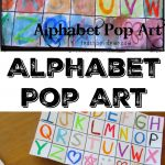 Alphabet Pop Art