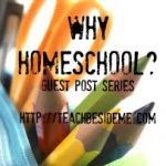 """Why Homeschool?"" Guest Post- Sanz"
