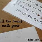 Spill the Beans Math Game – Free Printable