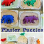 Homemade Plaster Puzzles