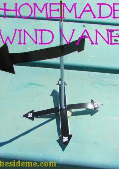 Homemade Wind Vane or Weather Vane Science
