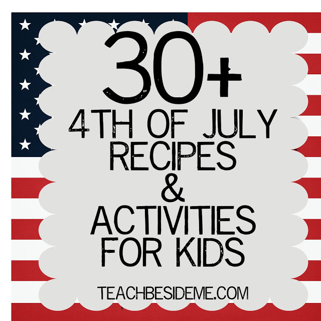 4th of July Crafts, Activities & Recipes!