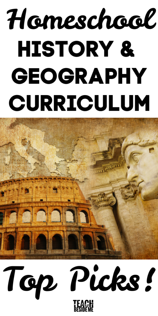 homeschool history curriculum and geography top picks