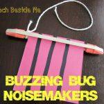 Buzzing Bug Noisemaker Toys