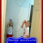 100 Days of Play: Paper Airplane Hangers