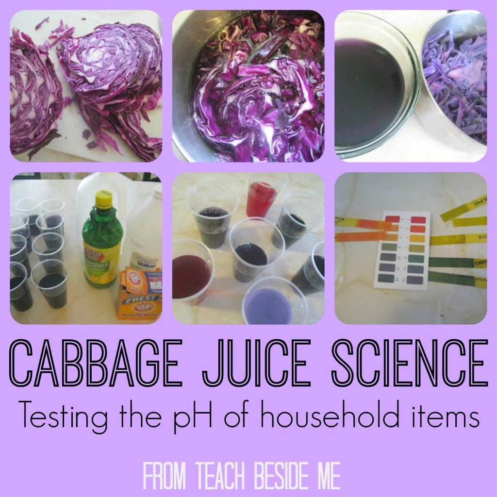 cabbage juice ph kitchen chemistry