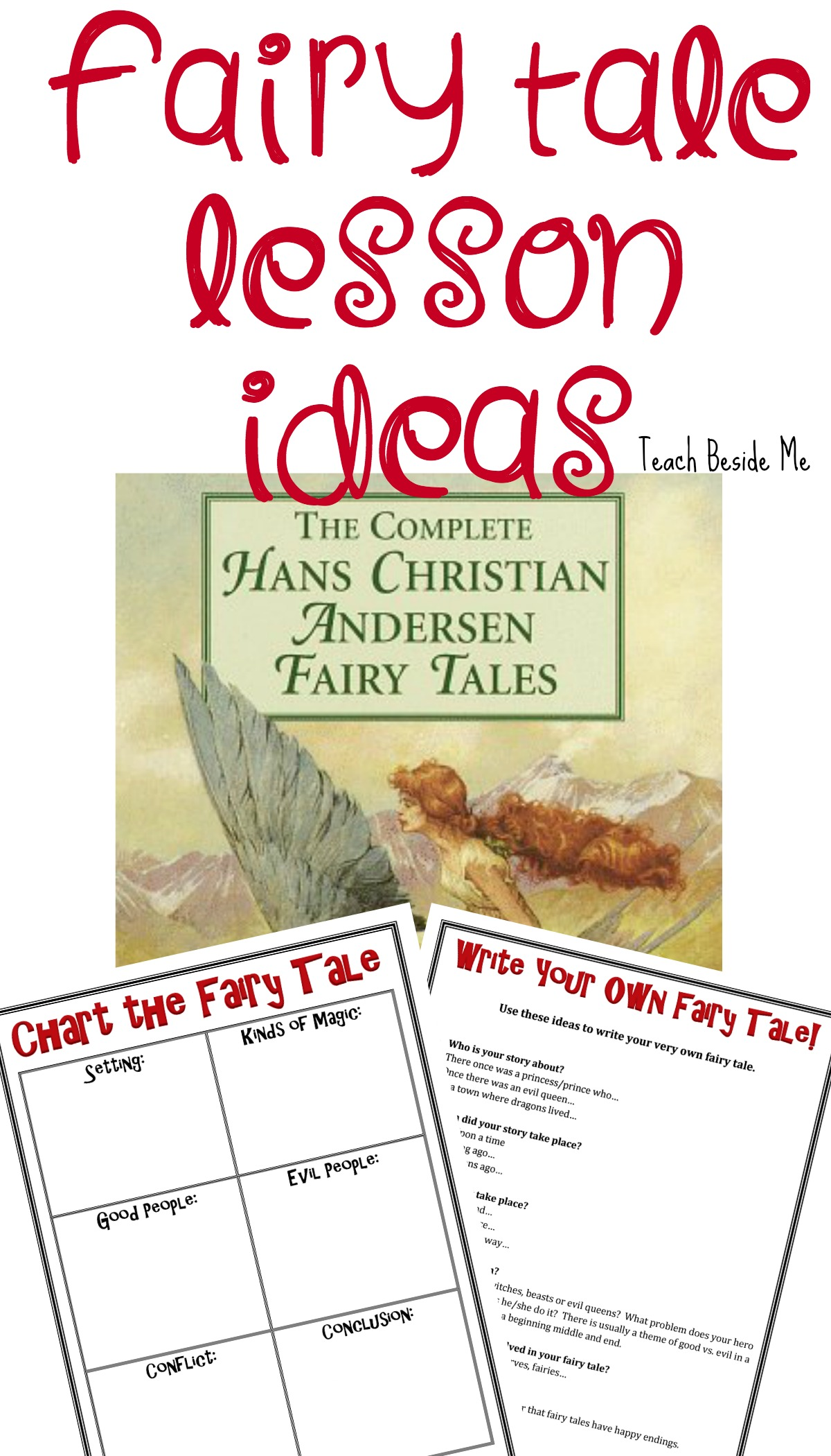 Fairy Tale Lesson Ideas with Hans Christian Andersen