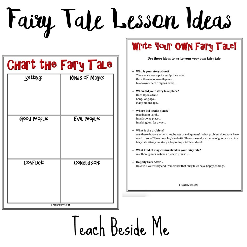 Hans Christian Anderson Fairy Tale Lesson